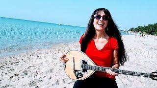 ΠΡΙΓΚΗΠΕΣΑ -αναλυτικο ευκολο μαθημα στο μπουζουκι.Angelina Music Channel