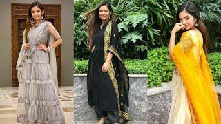 Anushka Sen Indian Dresses 👍👌|| Sana Theem