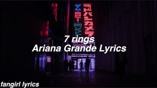 7 rings    Ariana Grande Lyrics