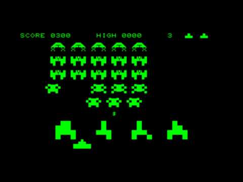 Space Invaders for the Commodore PET\\Commodore CBM