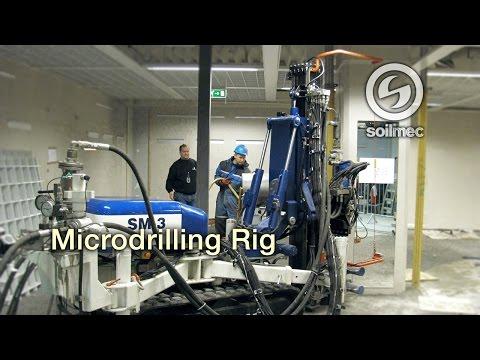 Enlace vídeo Soilmec SM 3 Microdrilling