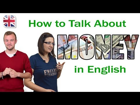 How to Talk About Money in English - Spoken English Lesson