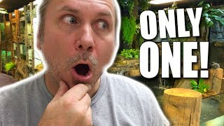 I CAN ONLY KEEP ONE REPTILE CHALLENGE!! WHICH WILL I CHOOSE?? | BRIAN BARCZYK