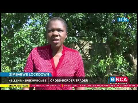Zimbabwe lockdown: Cross-border traders starving