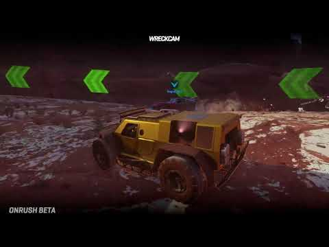 Whitewater Canyon Overdrive Gameplay de Onrush