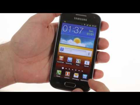 Samsung Galaxy Ace 2 I8160 hands-on