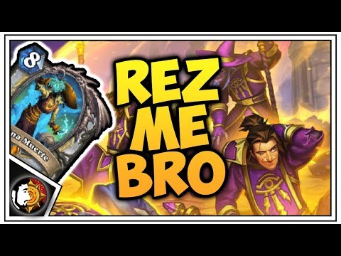 Hearthstone: Resurrect Wall Priest (Part 2) - Rise Of Shadows