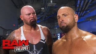 Luke Gallows & Karl Anderson feel cheated: Raw Fallout, Jan. 16, 2017