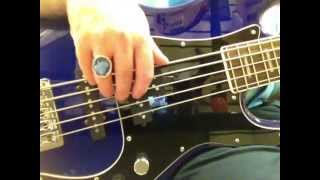 preview picture of video 'Shuker Custom P5 Alice at Bass Gear, Twyford, Berkshire, UK'