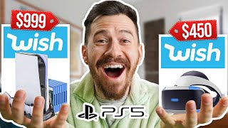 I Bought All The PS5 Accessories On Wish!!