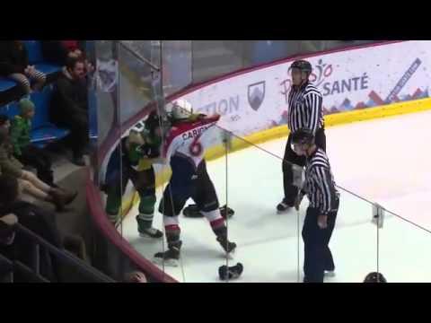 Julien Carignan-Labbe vs. Nathan Tremblay