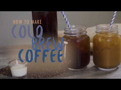 Video How to Make Large Quantities of Cold Brew Coffee