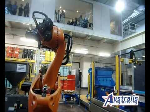 Award winning materials handling system at the Royal Australian Mint