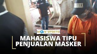 Usaha EO Alami Masalah Finansial, Seorang Mahasiswa Lakukan Penipuan Penjualan Masker