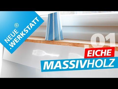Schweberegal aus EICHEN MASSIV HOLZ /// Oberfräse + Hobel | .01 | NEUE.WERKSTATT