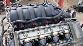 BMW 740iL 540i Engine Diagram Maintenance M62tu 4.4 Vanos