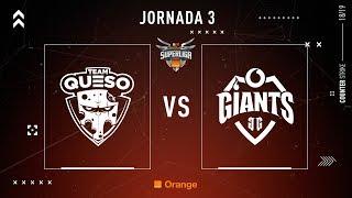 TEAM QUESO VS VODAFONE GIANTS #SUPERLIGAORANGECSGO3