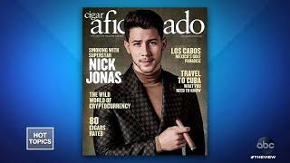 Nick Jonas Smoking Controversy | The View