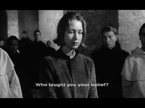 The Trial of Joan of Arc ( Procès de Jeanne d'Arc )