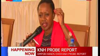 Parliamentary Health Committee receives KMPDB's KNH report on nurse Mary Wahome: News Centre