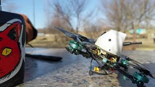 Flying my Toothpick after 4 months of FPV Abstinence (I suck)