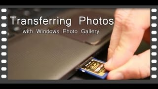 Transferring(copying) Photos from Camera to Computer