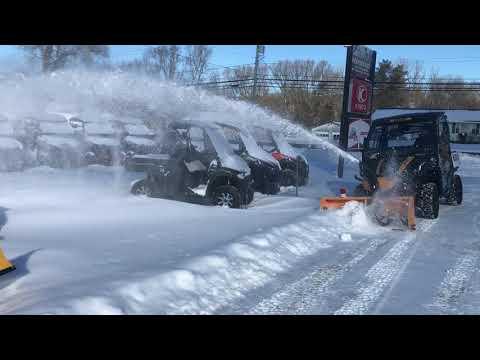 "2020 Bennche 60"" Snowblower in Freedom, New York - Video 3"