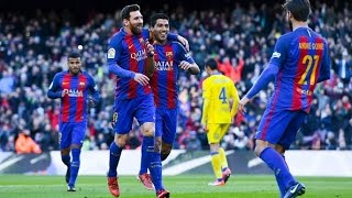 Barcelona vs Las Palmas All Goals and Highlights 14/1/2017 HD