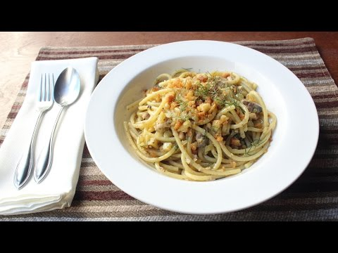 Pasta con le Sarde – How to Make Sicilian-Style Pasta with Sardines and Fennel