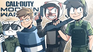The boys are back in modern warfare...