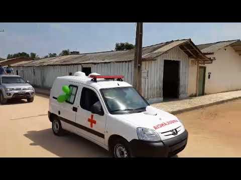 Chegada da nova Ambulância para Saúde Publica em Bom Jesus do Tocantins - PA