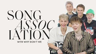 Why Don't We Sings Justin Bieber, Cardi B and Bruno Mars in a Game of Song Association | ELLE