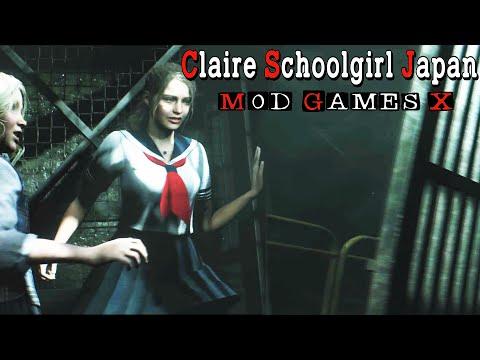 RE2: RE - Claire Schoolgirl Japan v.1.1