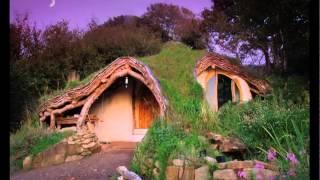 Green Home Design - The Hobbit Tiny House Design - The $4500 Self Built Eco-friendly Tiny Home