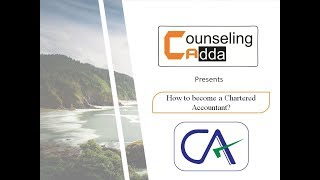 How to become a Chartered Accountant (CA)?
