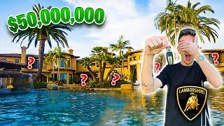 Hide N Seek In A $50,000,000 MANSION!! **WINNER GETS CAR**