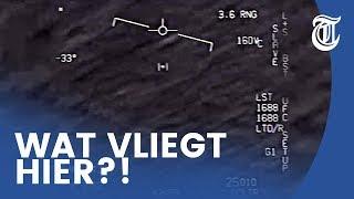 Piloot filmt ufo: 'Wat de f*ck is dit?'