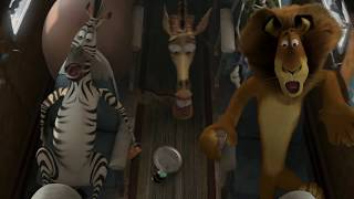 Madagascar 2 Flying Scene