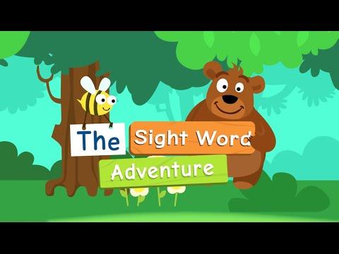 Vídeo do Sight Words Palavras inglesas