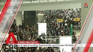 Protests at Hong Kong International Airport
