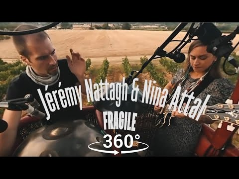 VR 360° Nina Attal & Jeremy Nattagh (Sting cover) | Natura'live #5 Luberon