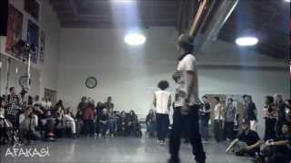 Les Twins @ San Francisco April2012 (Larry; Dada vs. Papa)