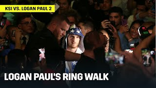 Logan Paul's Ring Walk