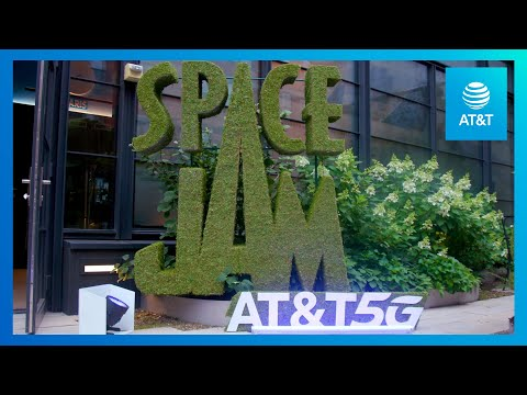 Become Part of Space Jam's Starting Line Up with AT&T-YoutubeVideoText