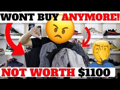 RANT: 5 Reasons I WON''T BUY NIKE JACKETS ANYMORE!! (Not Worth $1100)