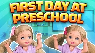 Barbie - The Twins First Day at Preschool