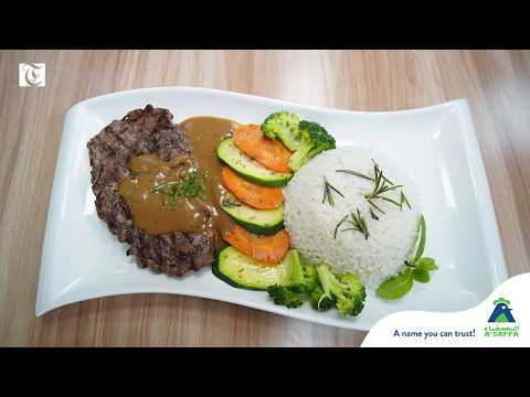 Food ideas for iftar at home: Steak Mushroom