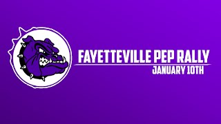 Fayetteville High Pep Rally | 1/10/19