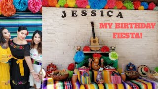 Best Mexican Theme Birthday Party| Mexican Fiesta | GlammyJ Vlogs