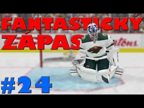 NHL 19 | KOBLIH GOLMANEM #24 | FANTASTICKÝ ZÁPAS! | CZ/SK